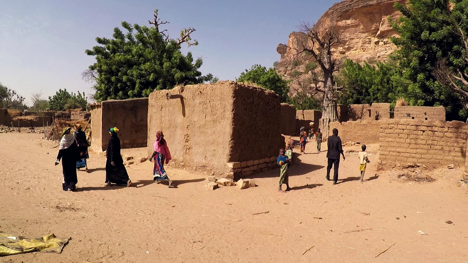 Ende dogon pablocaminante - La década maliense