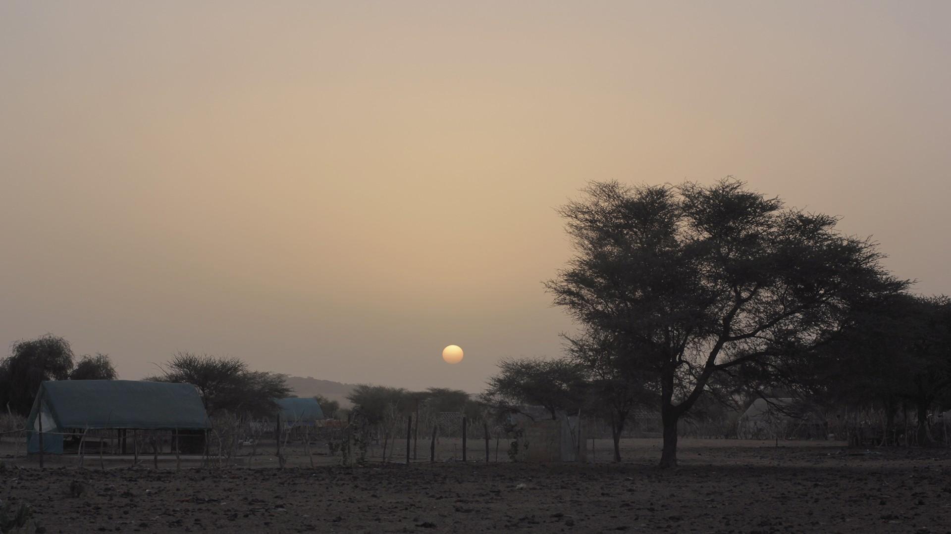 atardece mauritania pablocaminante - Mauritania 4/5, Nouakchott a Gogui
