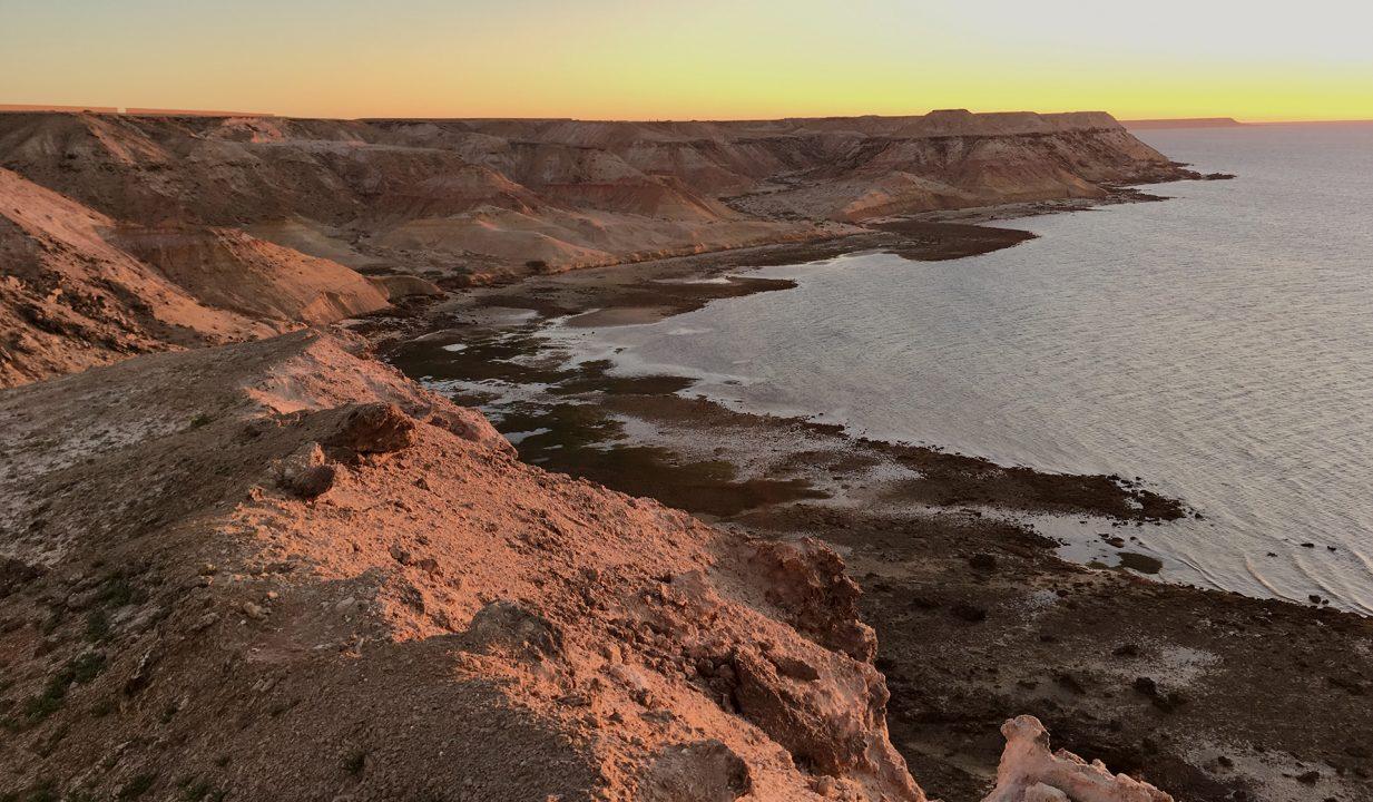 atardecer dajla marruecos pablocaminante 1233x720 - Marruecos 2/3, Sáhara Occidental
