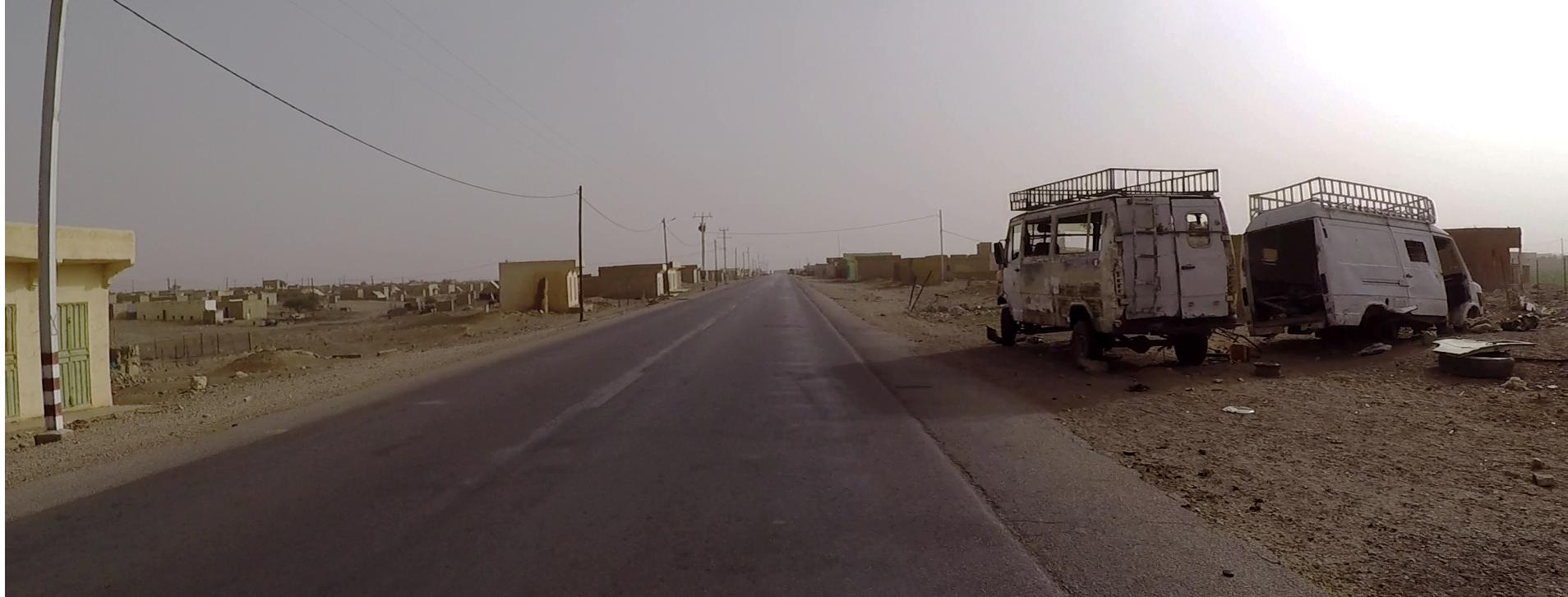 autos rotos mauritania pablocaminante - Mauritania 2/5, de Nouadhibou a Nouakchott