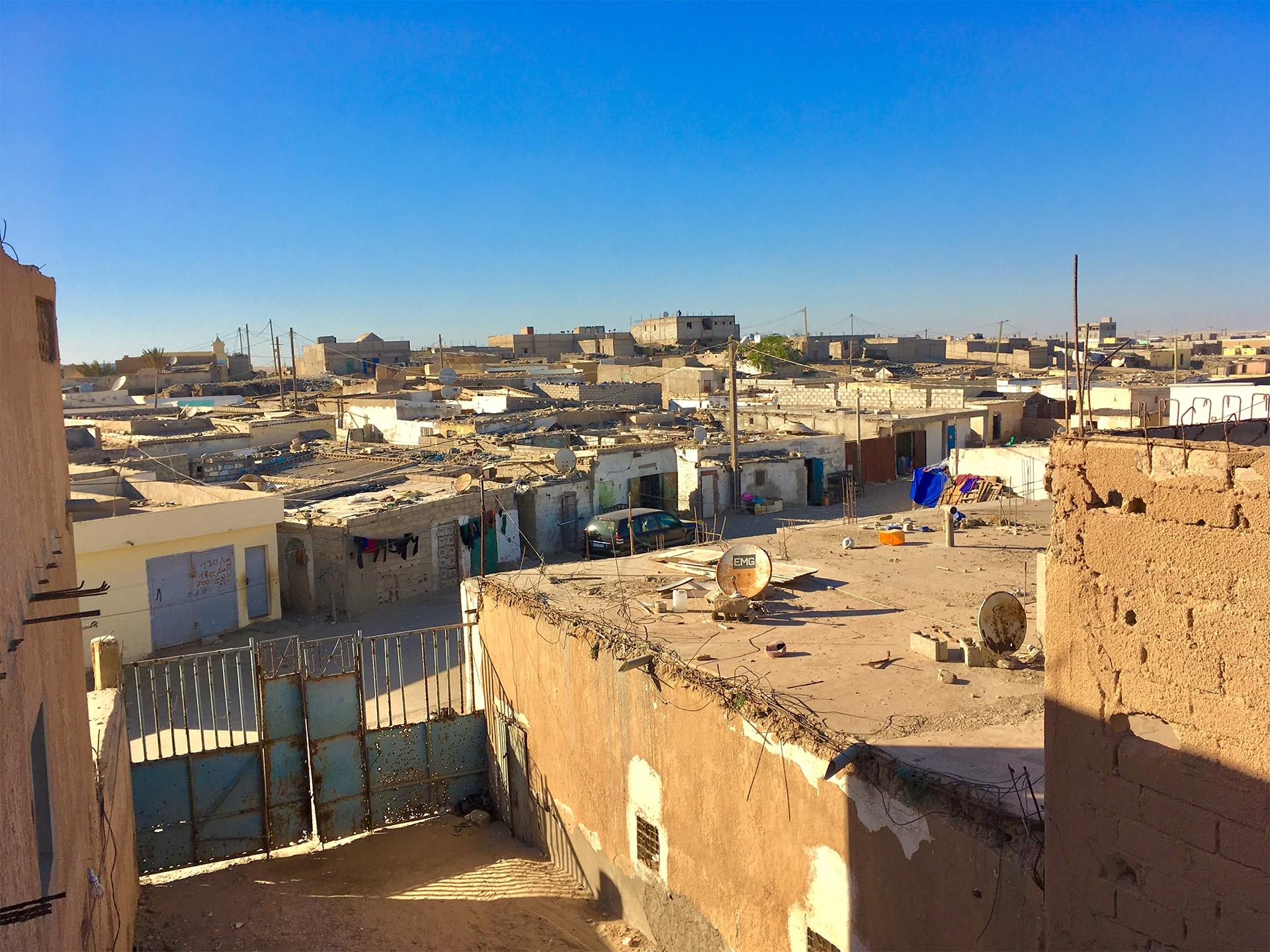 barrio albergue sahara nouadhibou pablocaminante - Mauritania 1/5, Nouadhibou