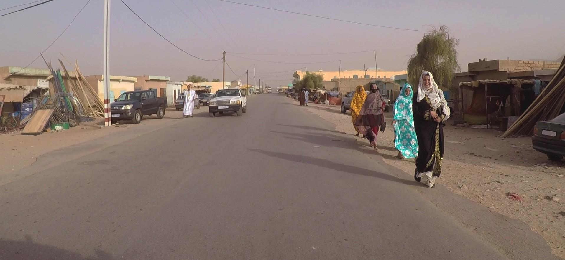 caminando carretera mauritania pablocaminante - Mauritania 4/5, Nouakchott a Gogui