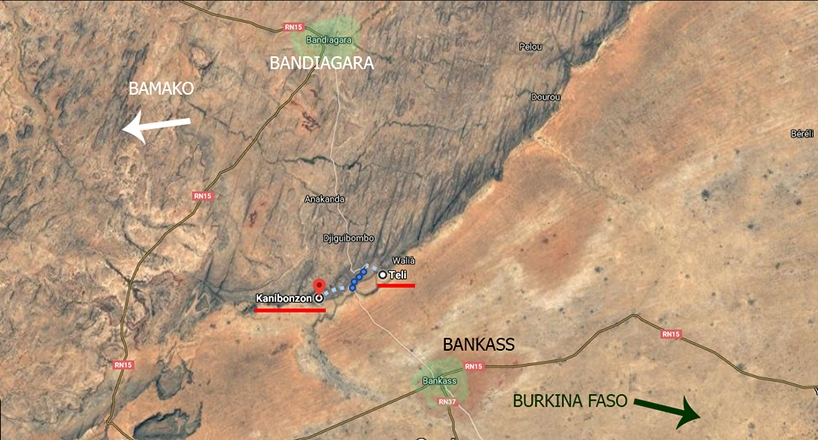 camino bandiagara bankasse pablocaminante - Malí