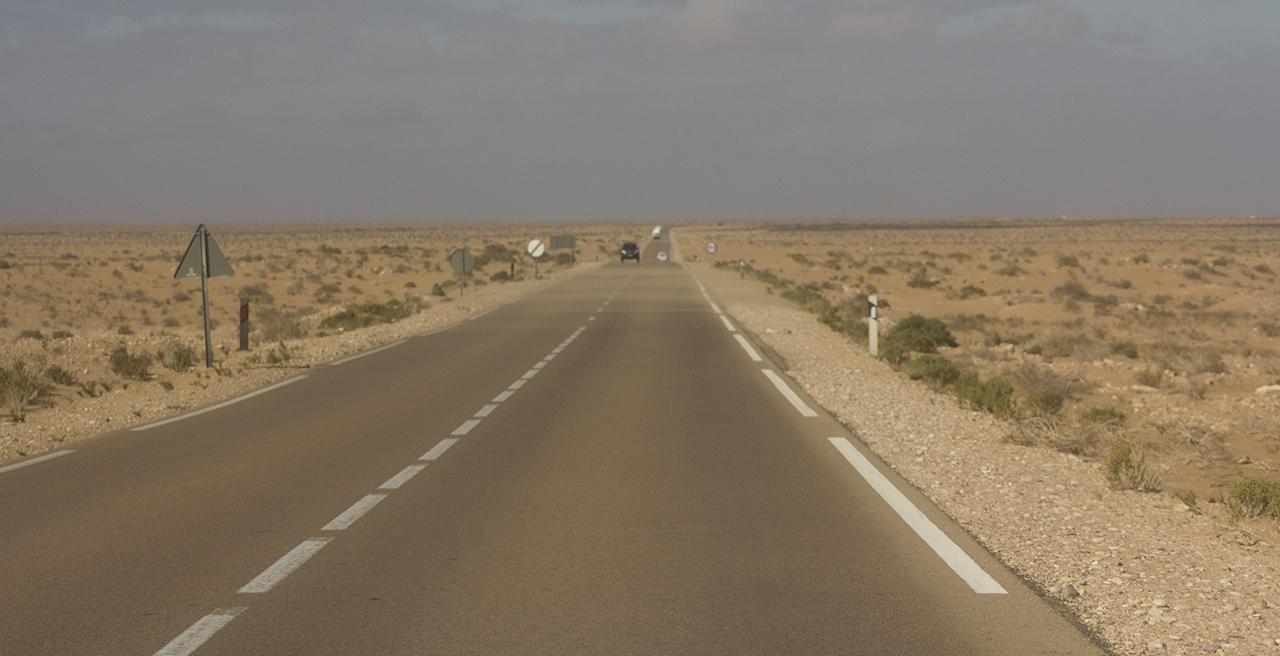 carretera marruecos mauritania pablocaminante - Marruecos 2/3, Sáhara Occidental