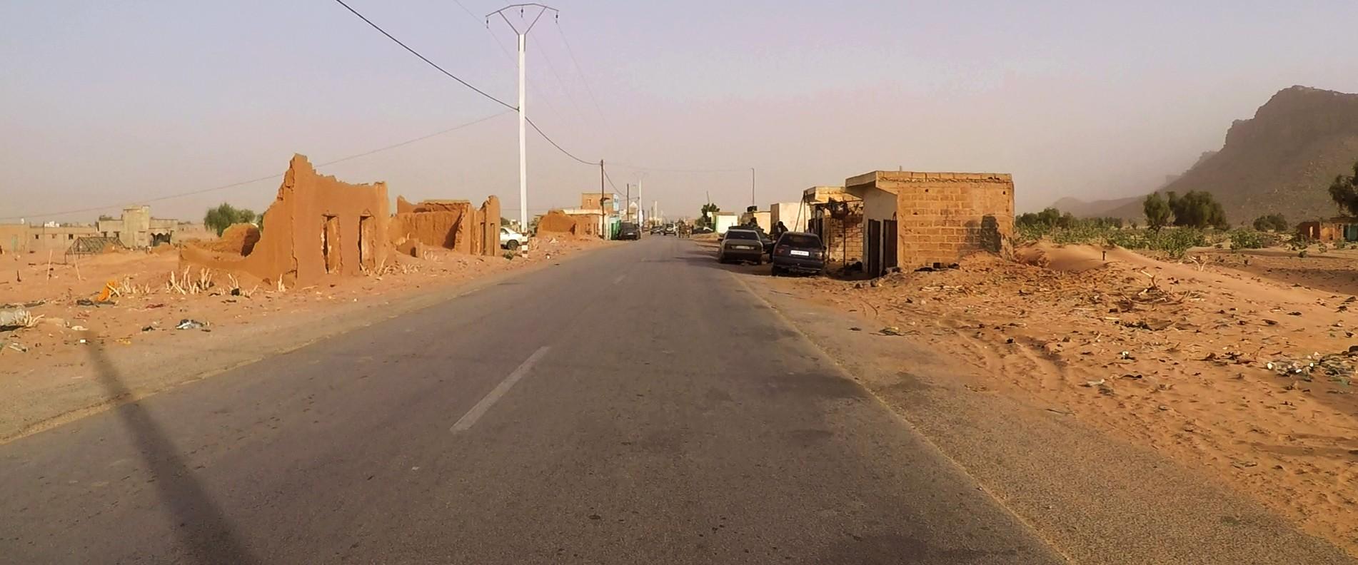 carretera mauritania pablocaminante - Mauritania 4/5, Nouakchott a Gogui