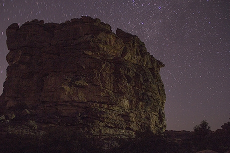 cielo nocturno bandiagara pablocaminante 1 - Malí
