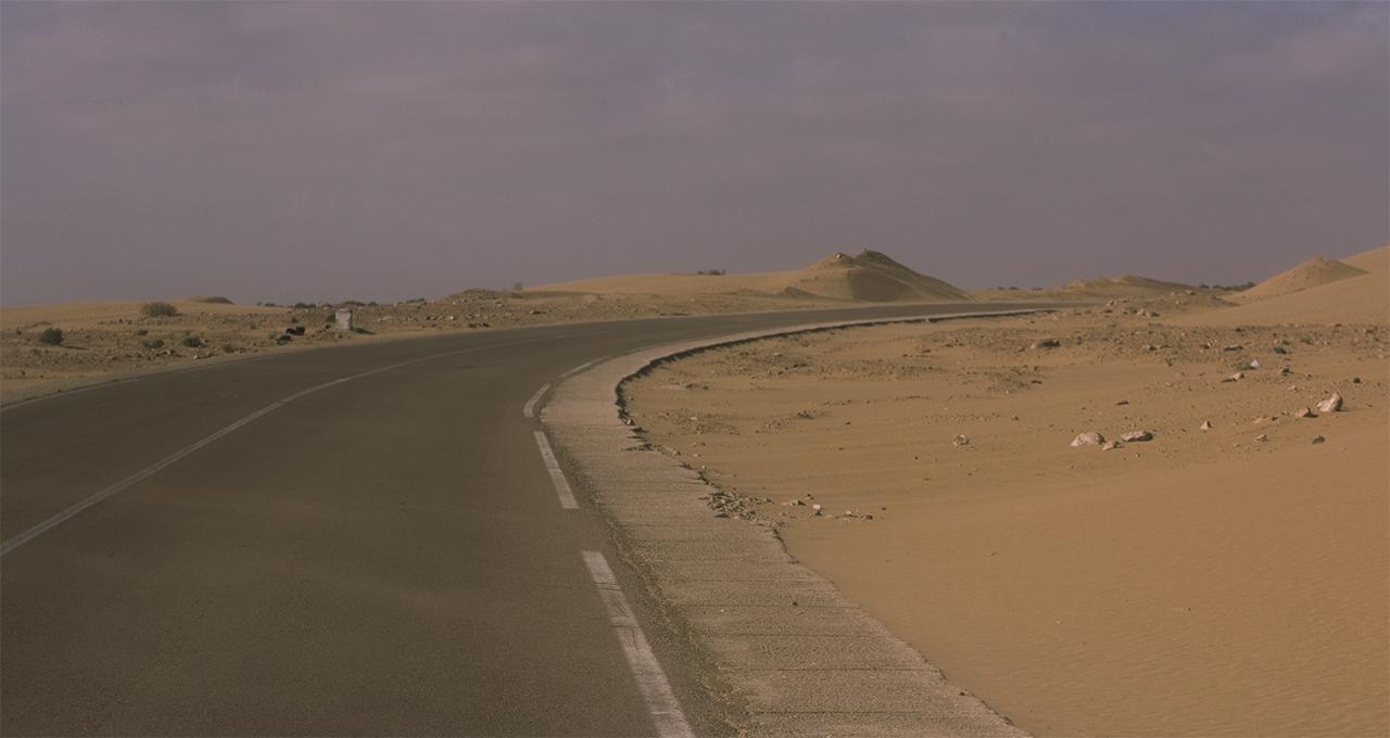 curva carretera marruecos pablocaminante - Marruecos 2/3, Sáhara Occidental