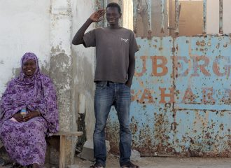 Momo en albergue sahara de nouadhibou pablocaminante