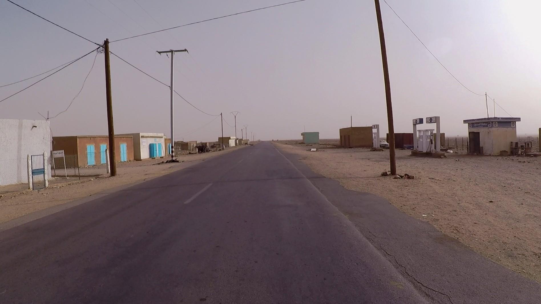 gasolinera mauritania pablocaminante - Mauritania 4/5, Nouakchott a Gogui
