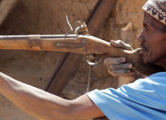 Herrero y cazador Dogon Mali pablocaminante