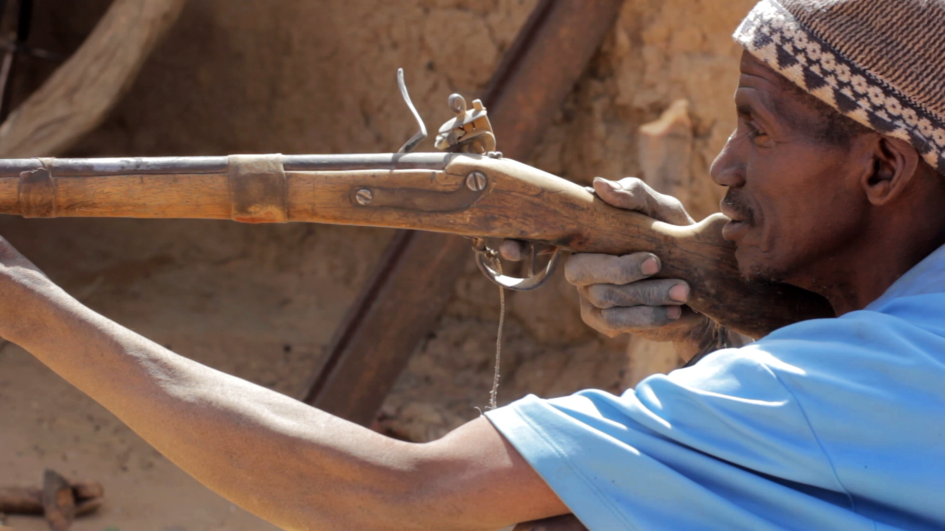 herrero cazador dogon pablocaminante - La década maliense