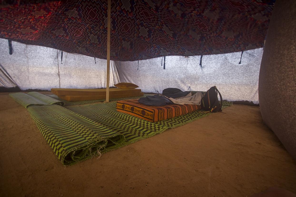 interior jaima playa mauritania pablocaminante - Mauritania 2/5, de Nouadhibou a Nouakchott