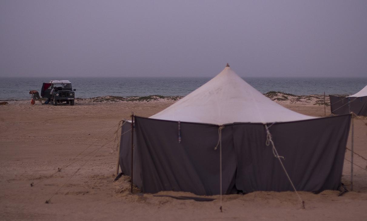 jaima playa mauritania pablocaminante - Mauritania 2/5, de Nouadhibou a Nouakchott