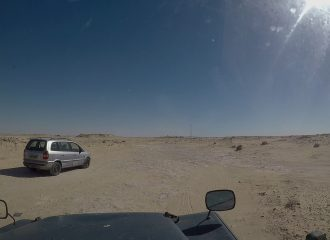 Cruzando a Mauritania pablocaminante