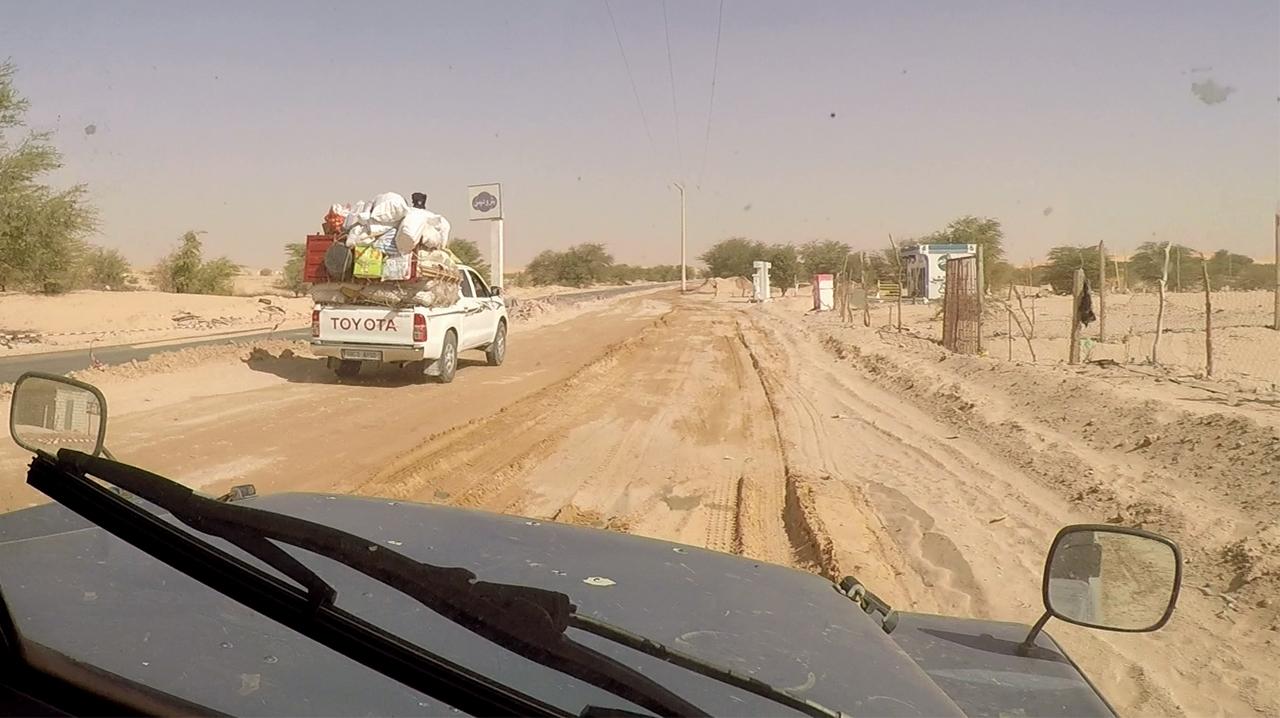 obras carreteras mauritania pablocaminante - Mauritania 3/5, Nouakchott