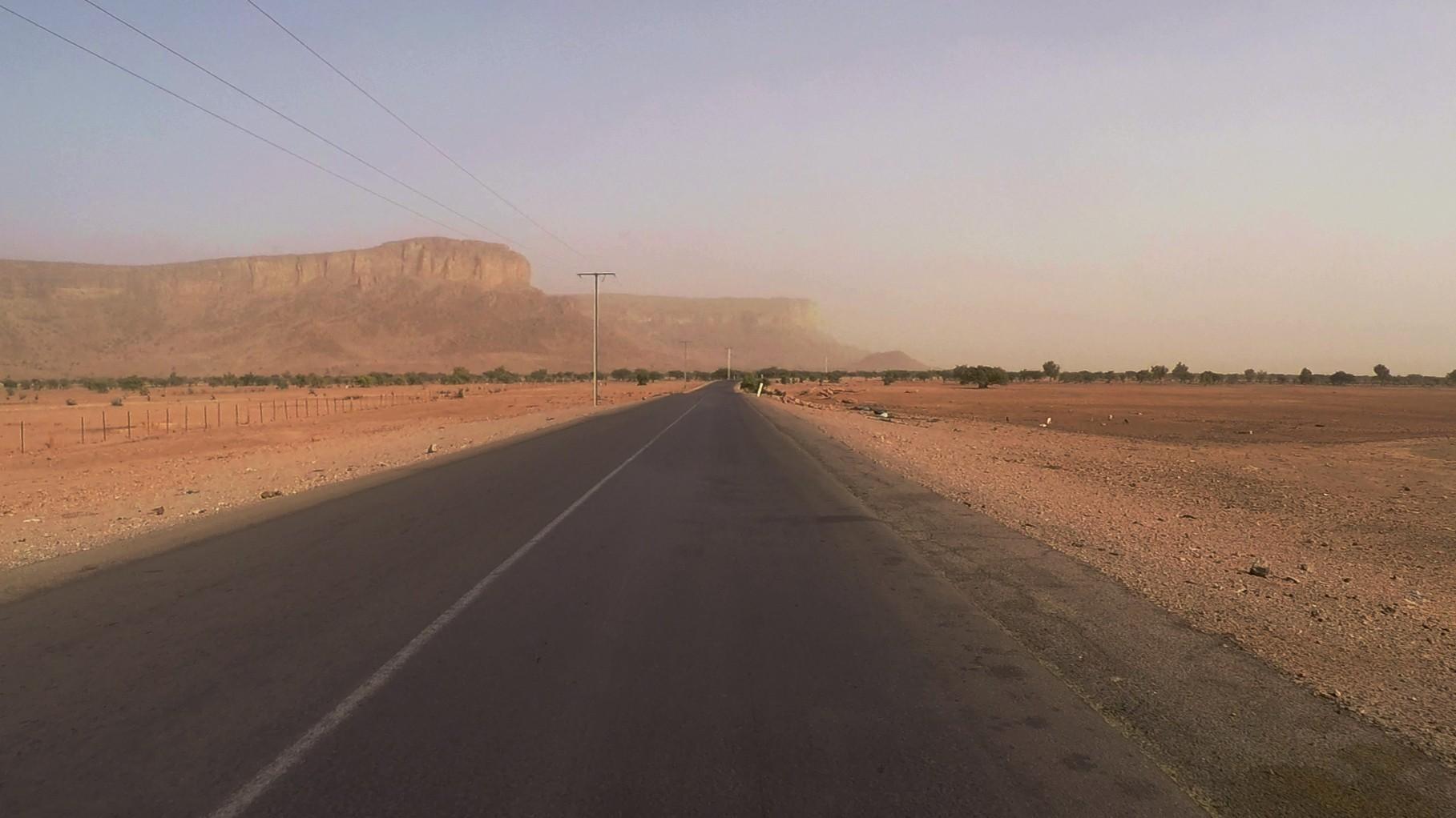paisaje mauritania pablocaminante - Mauritania 4/5, Nouakchott a Gogui