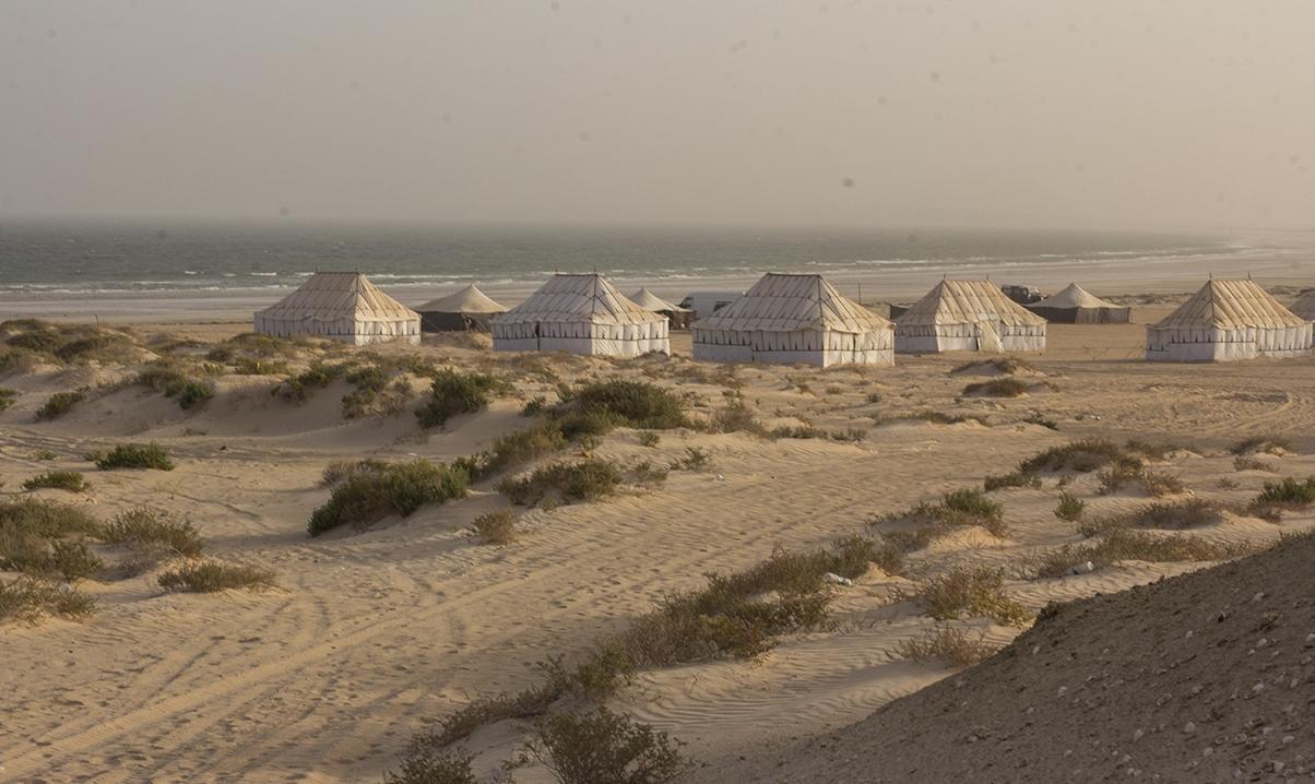 pescadores playa casas mauritania pablocaminante - Mauritania 2/5, de Nouadhibou a Nouakchott