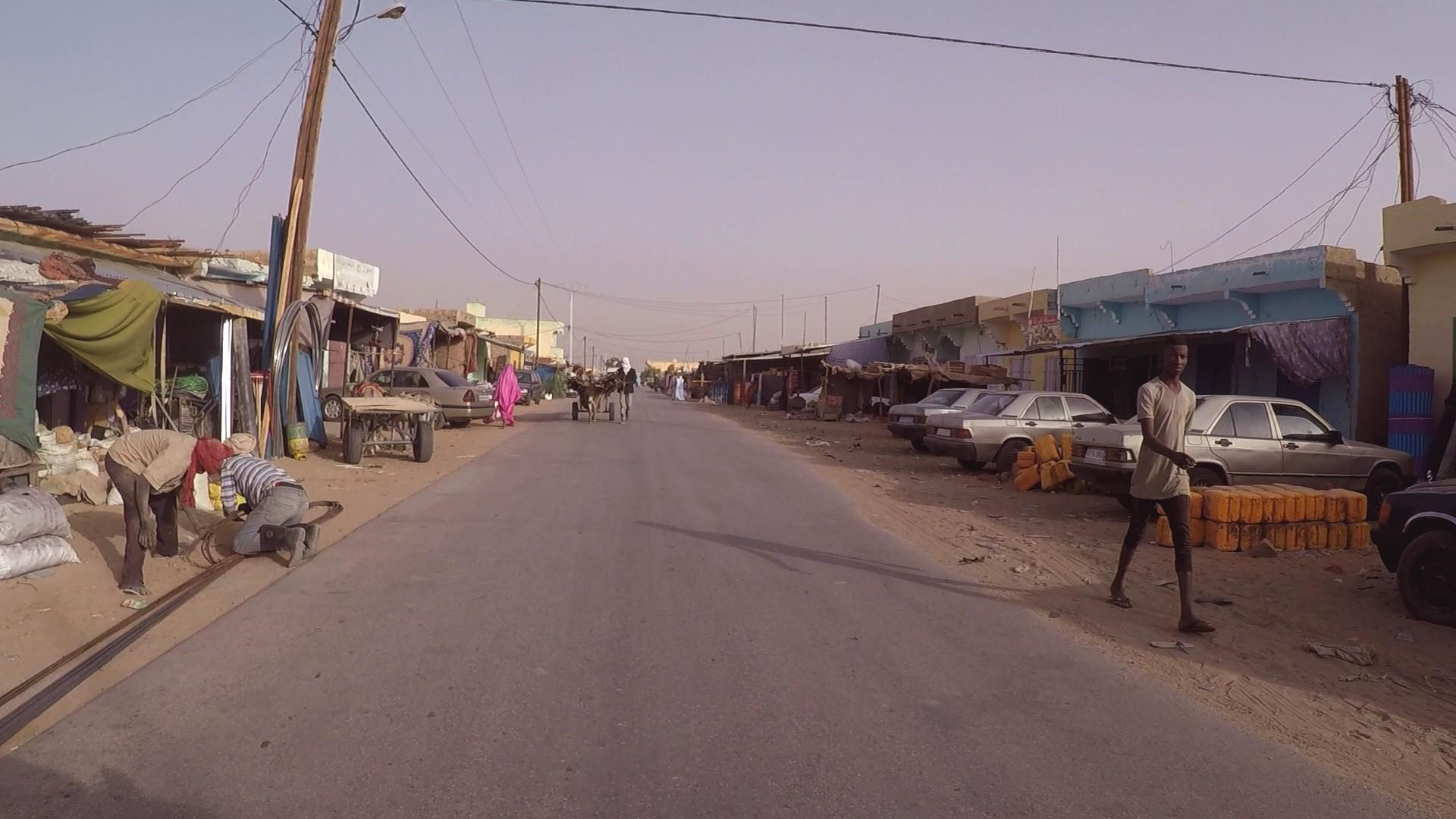 pueblo carretera mauritania pablocaminante - Mauritania 4/5, Nouakchott a Gogui