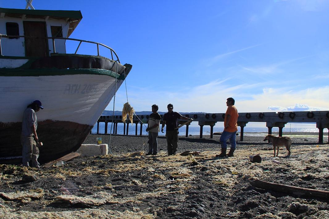 barco almacen chiloe pablocaminante - Chiloé, Chile