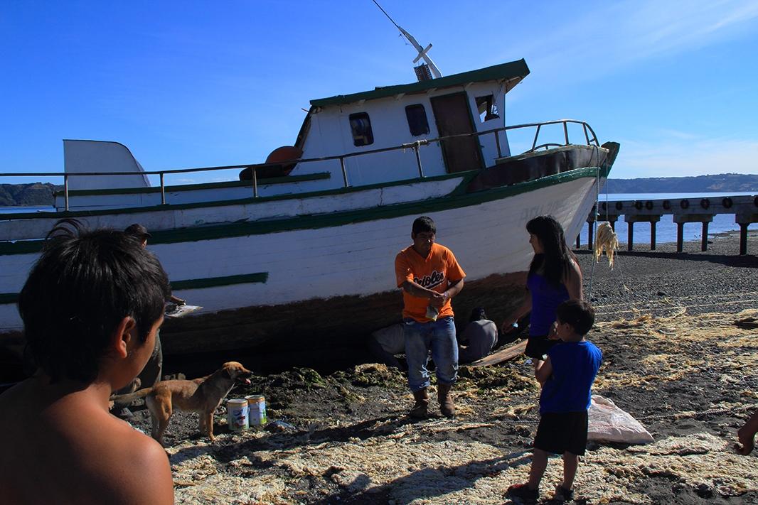 barco lin lin pablocaminante - Chiloé, Chile