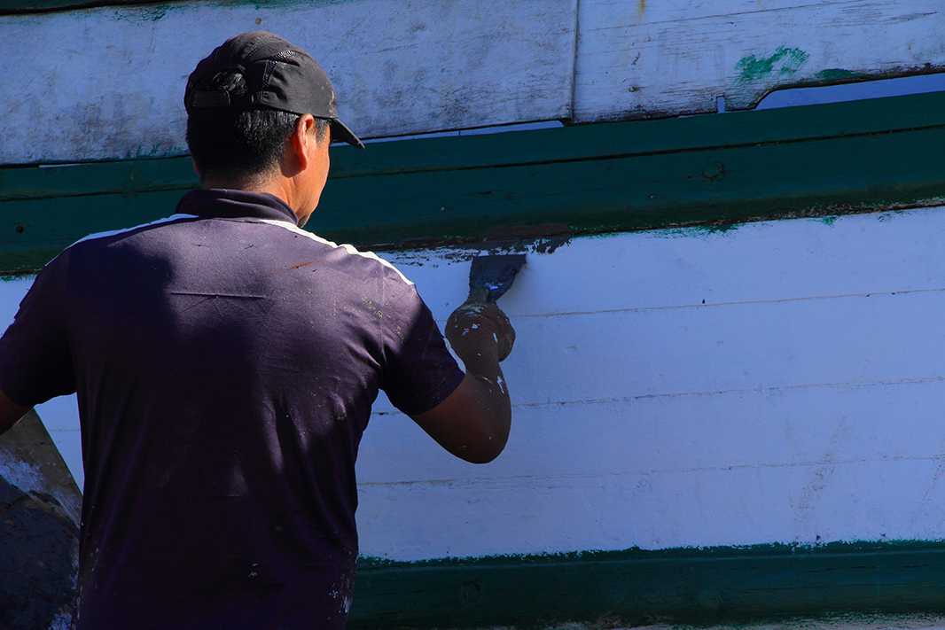 barco luis chiloe pablocaminante - Chiloé, Chile