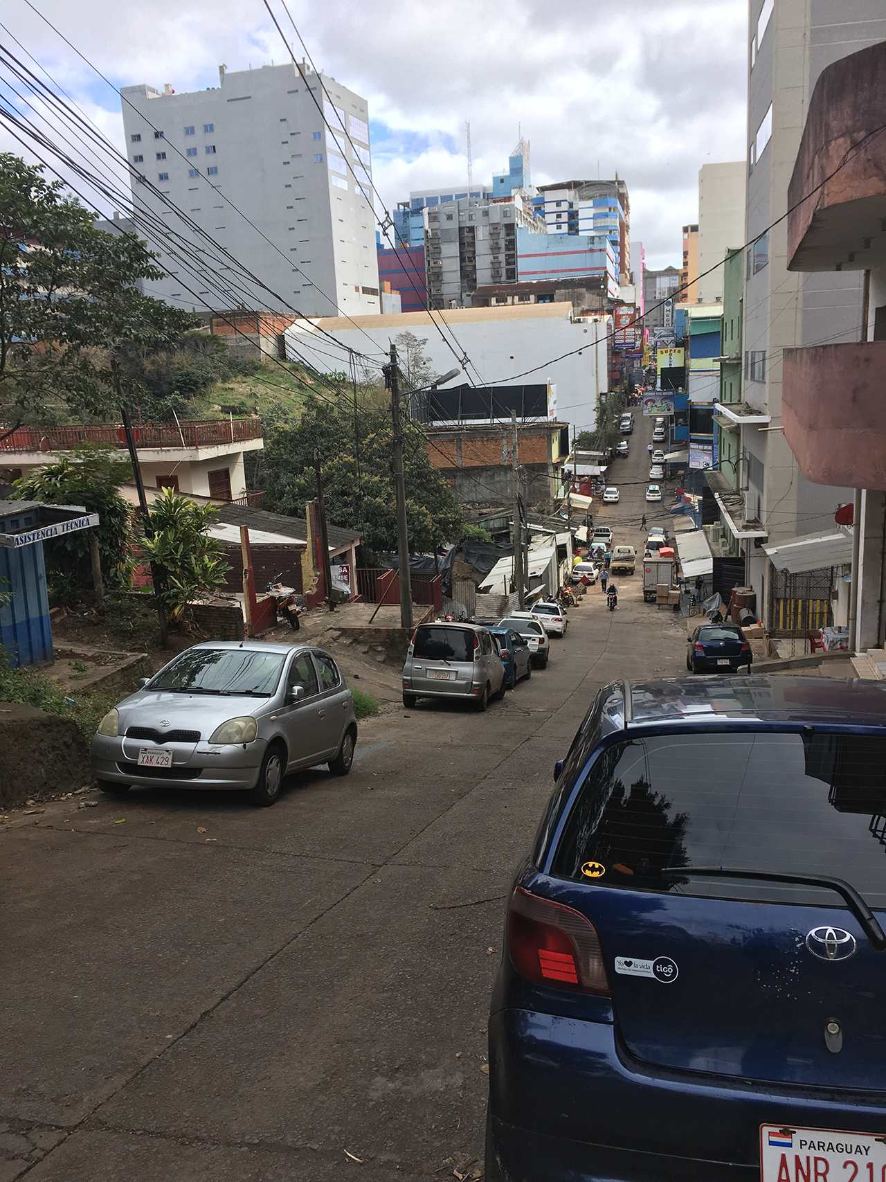 calle ciudad este paraguay pablocaminante - Paraguay, Ciudad del Este