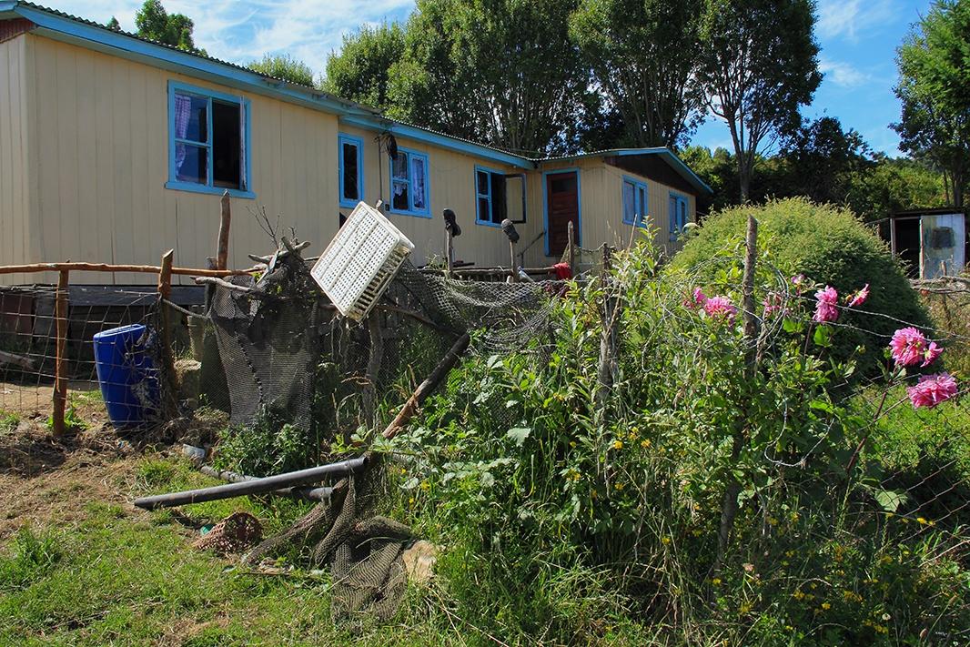 casa isolina pablocaminante - Chile, Islas de Chiloé