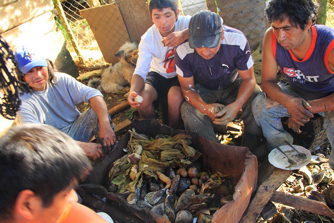 curanto chiloe pablocaminante - Chile, Islas de Chiloé