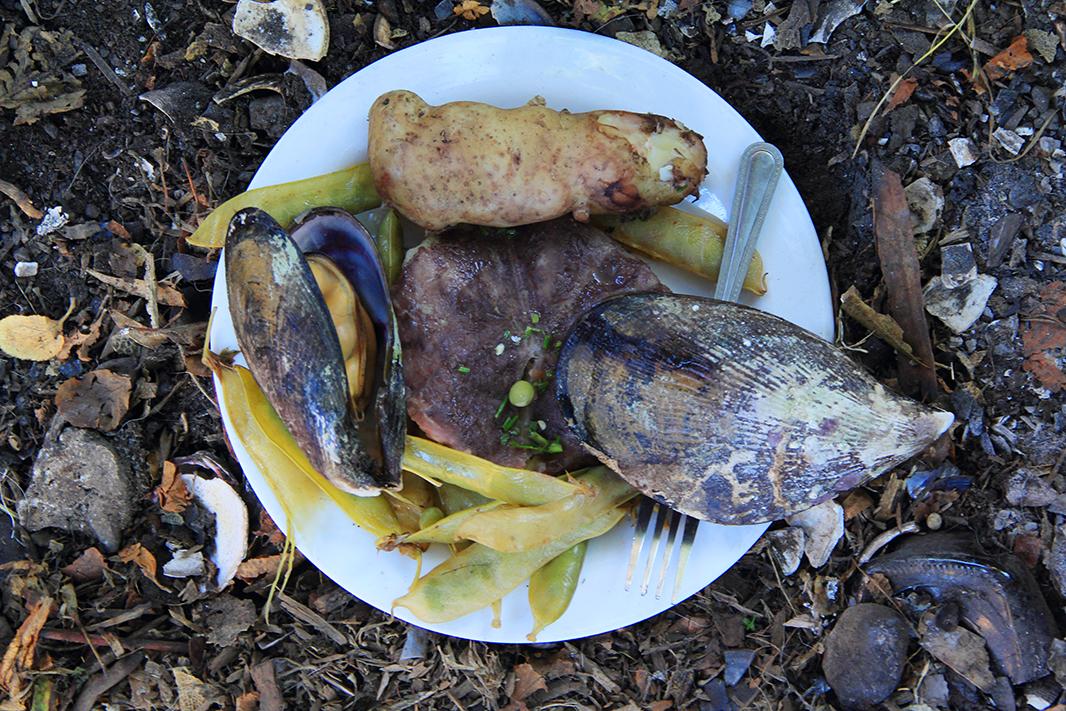 curanto plato chiloe pablocaminante - Chiloé, Chile