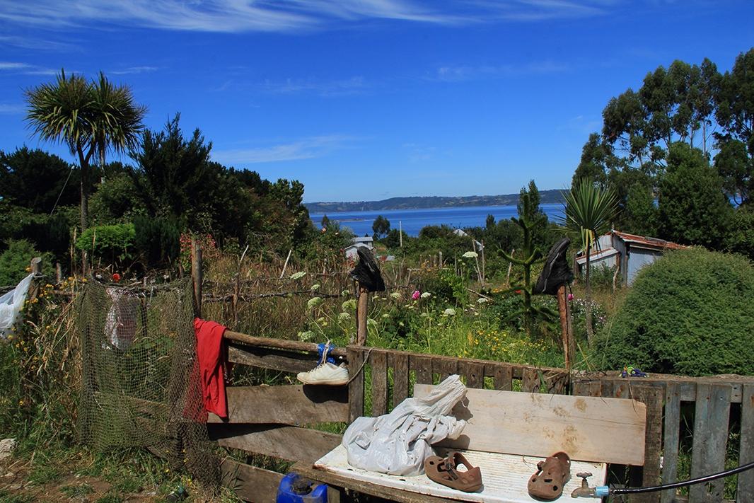 ropa secando chiloe pablocaminante - Chile, Islas de Chiloé