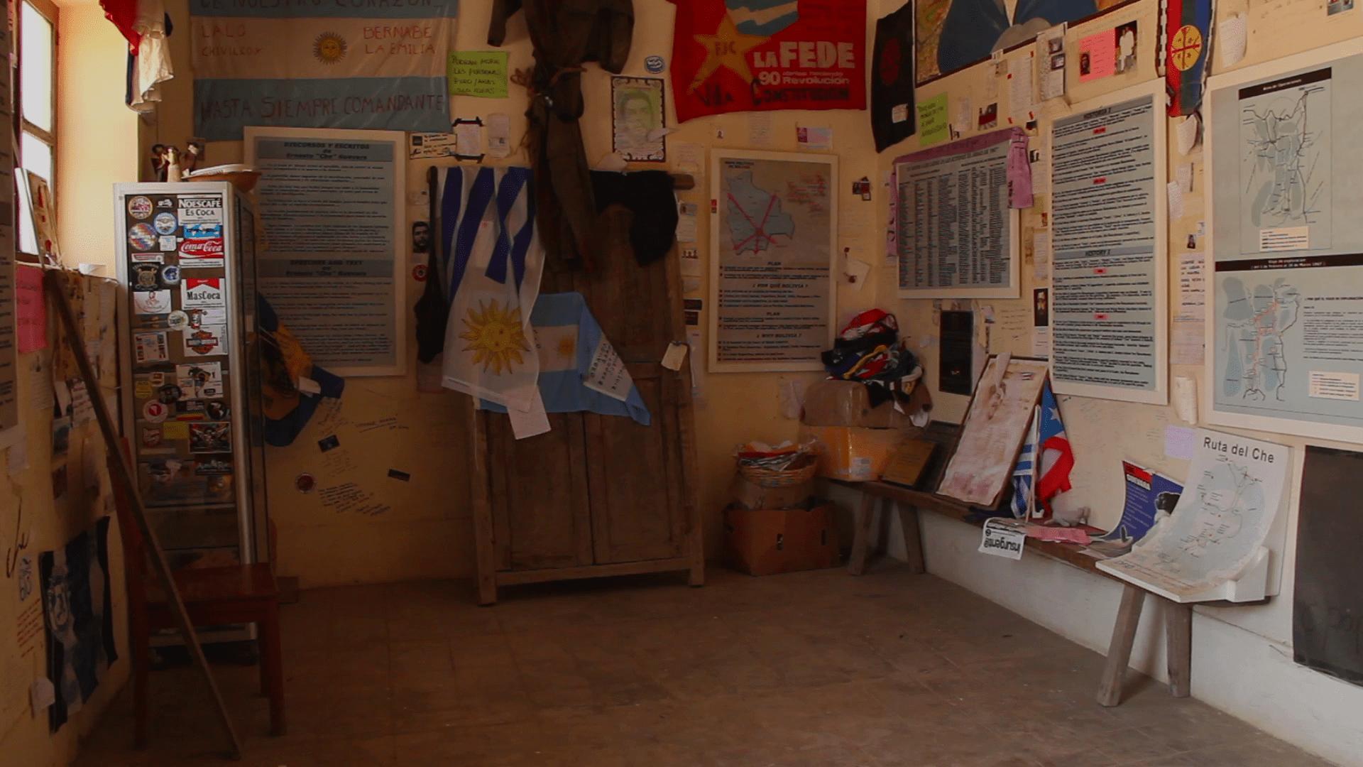 escuela higuera pablocaminante - Ruta del Che 2/2, La Higuera