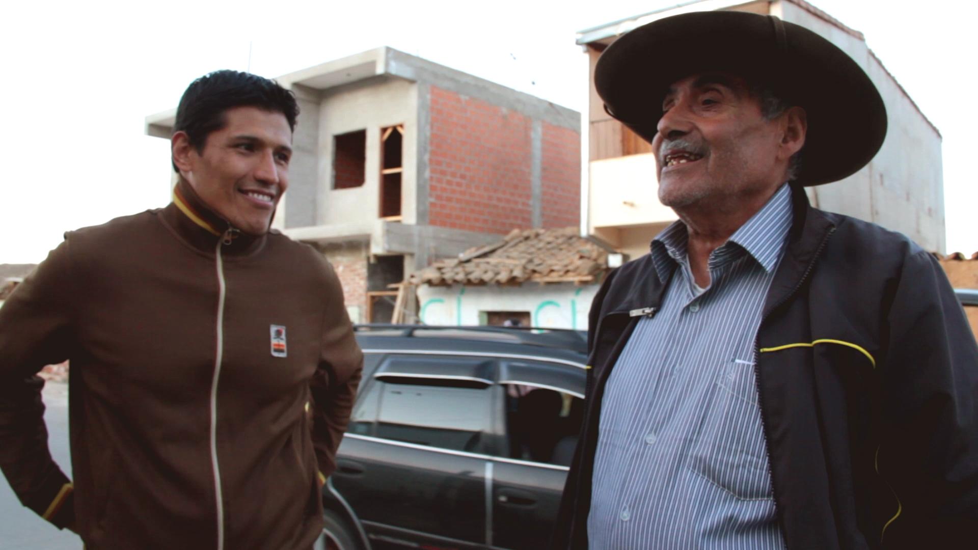 policarpios lino rutache pablocaminante - Ruta del Che 1/2, Vallegrande