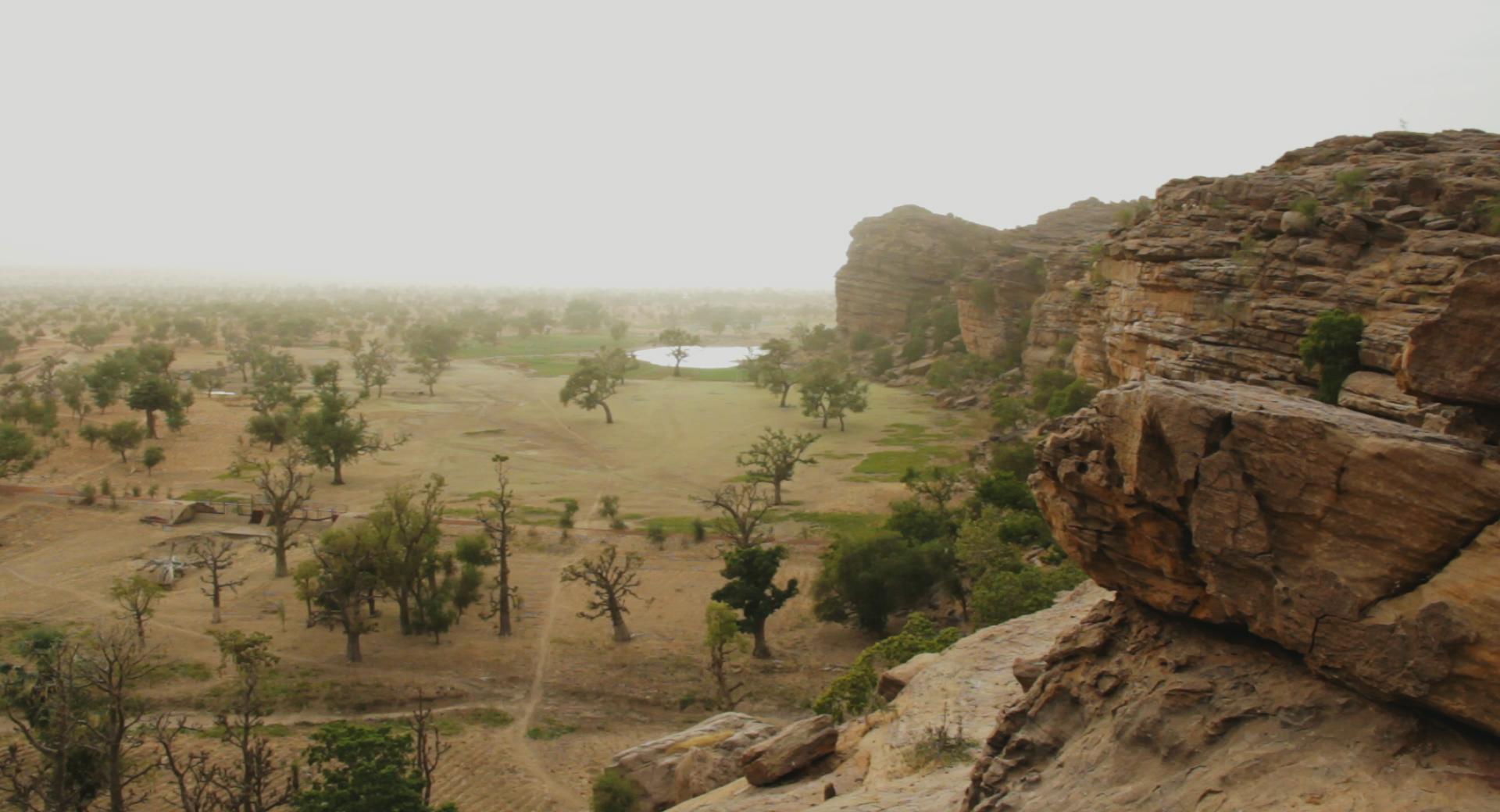 paisaje kanibonzon bandiagara dogon pablocaminante - Malí 6, País Dogon III: Acantilados de Bandiagara