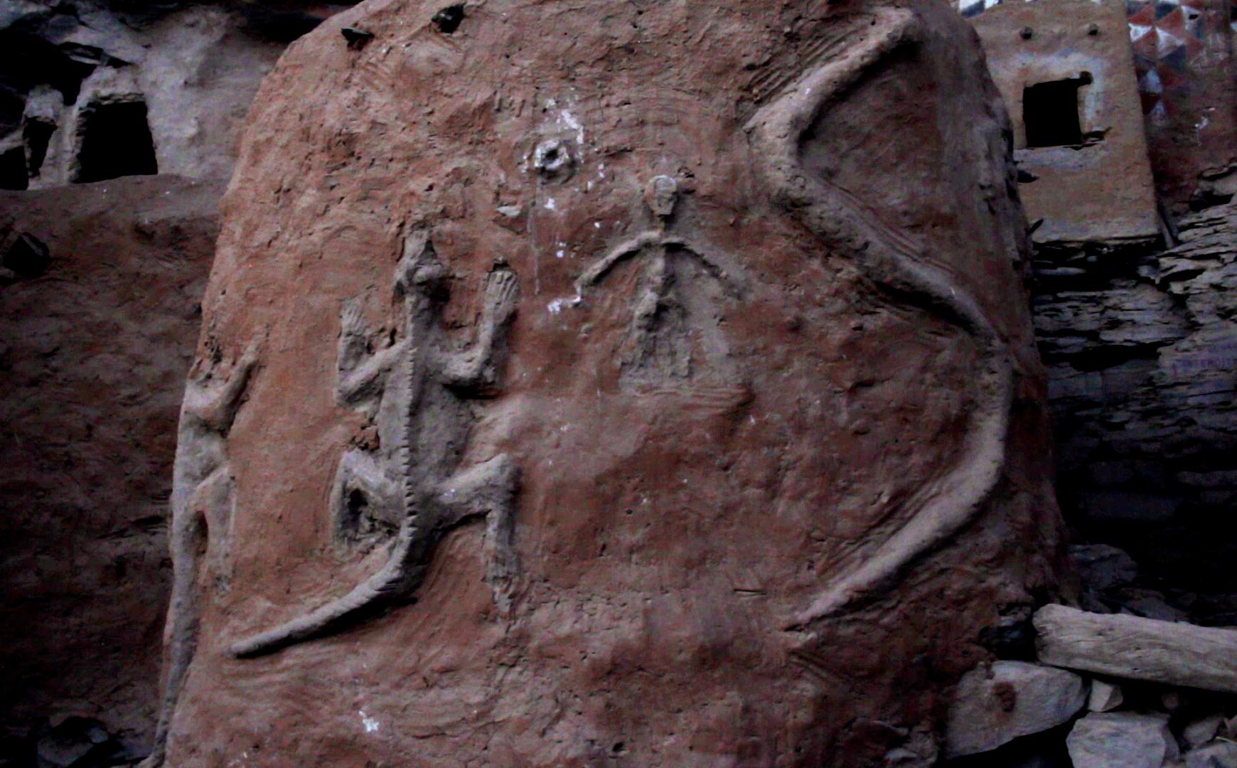 serpiente lebe teli pablocaminante - Malí 7, País Dogon IV: Tellem