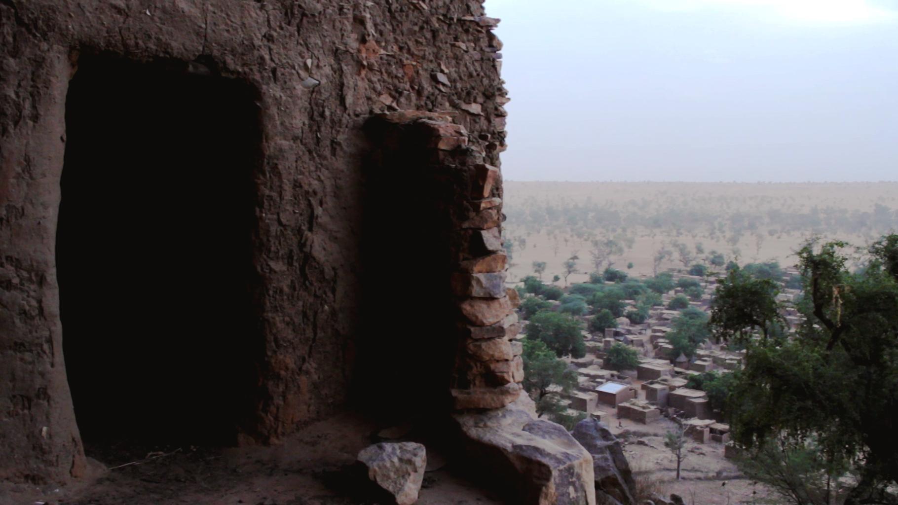 puerta dogon telem pablocaminante - Malí 7, País Dogon IV: Tellem