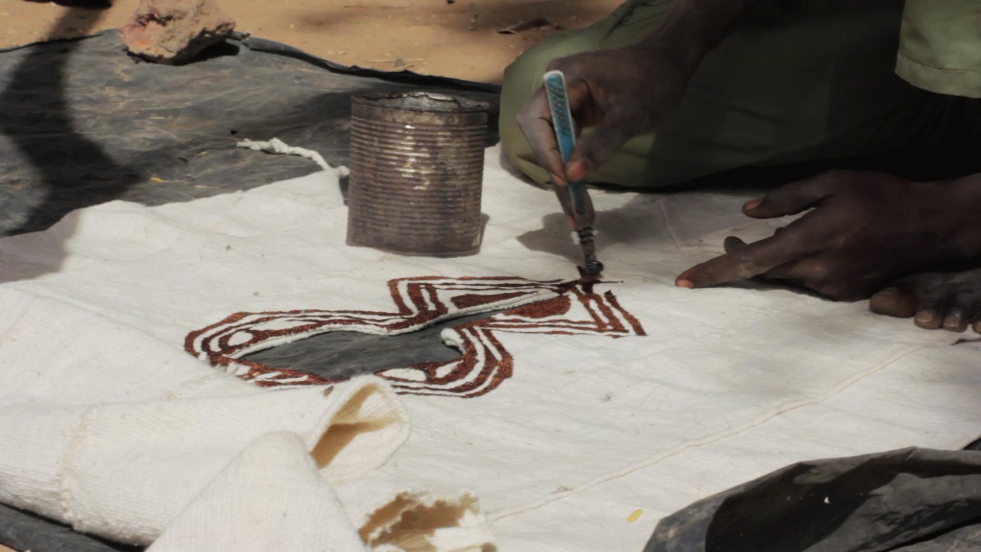 ende bogolan dogon pablocaminante  - Malí 8, País Dogon V: moda, arte y religión