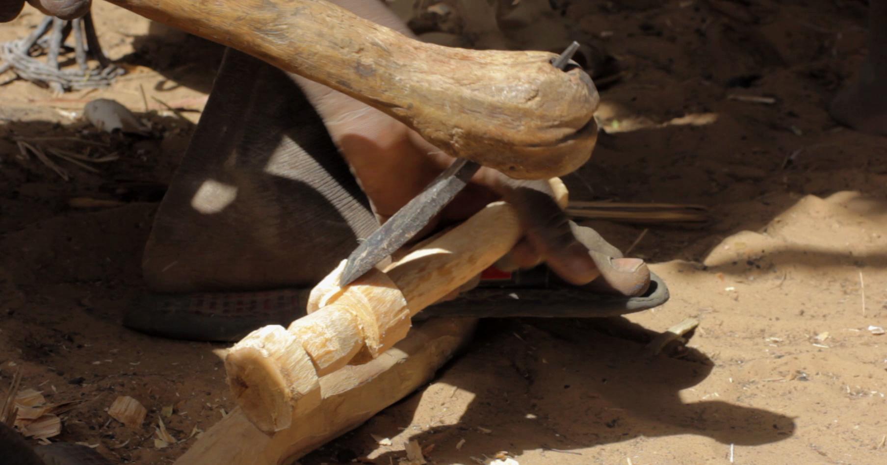 pablocaminante escultura dogon bandido cine - Malí 8, País Dogon V: moda, arte y religión